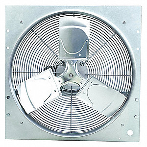 "24"" x 24"" 115VACV Medium Duty Direct Drive Exhaust Fan with 20"" Blade Dia."