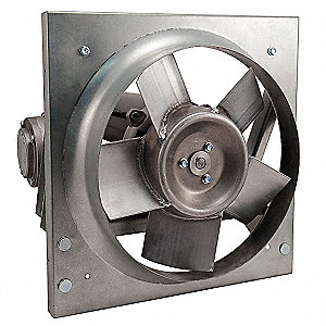 1/4HP 115/208-230V Panel Exhaust Fan