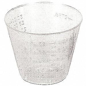 CUPS MEDICINE DISPOSABLE 1OZ 100/PK