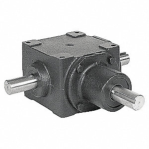 GEAR DRIVE,BEVEL,1750RPM,10.25HP,CI