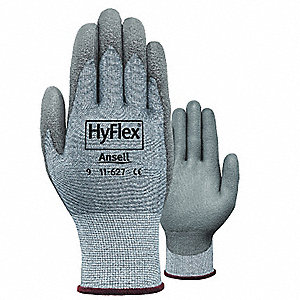 GLOVES HYFLEX CR2  GREY SZ 10