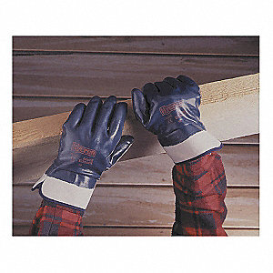 GLOVES NITRILE FLLY CTD SAFETY CUFF