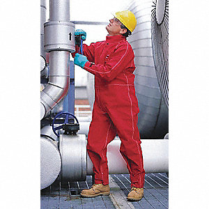 COVERALLS SAWYER-TOWER RED XL