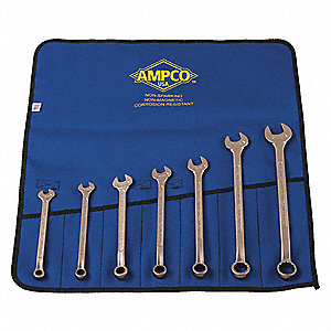 SET 7PC SAE COMBINATION WRENCH