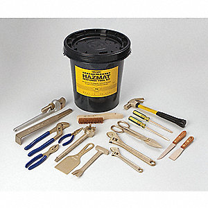 KIT  17 PC HAZMAT  TOOL