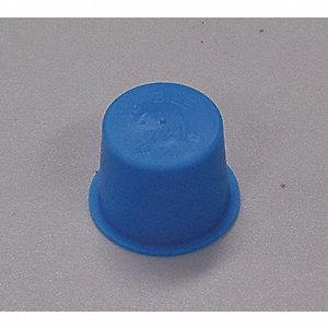 TAPER CAP/PLUG LDPE BL 100/BG 1/4NP