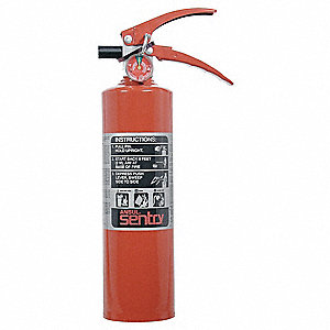 EXTINGUISHER 10LB ABC W/ WALL HOOK