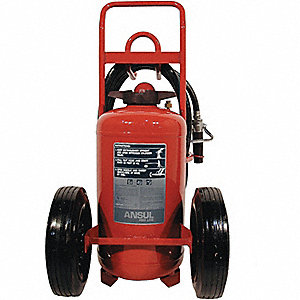 EXTINGUISHER WHL 150LB ABC RUB TIRE