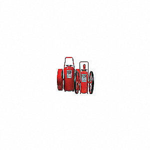 EXTINGUISHER WHL 350LB STD STL TIRE