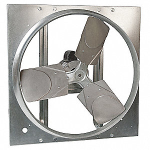 1/2HP 208-230/460V Direct Drive Reversible Exhaust/Supply Fan