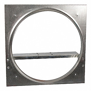 Exhaust Fan Venturi Frame,28x28,Galv