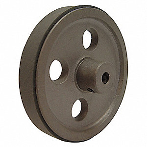 Aluminum with Rubber Rim, and Urethane Measuring Wheel, For Use With 3KTD2, 3KTD3, including Durant
