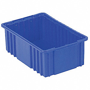 Divider Box,22-7/16 x 8 In,Dark Blue