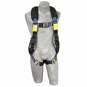 ExoFit™ XP Full Body Harness with 420 lb. Weight Capacity, Blue, L