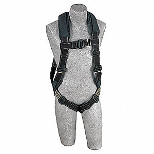 Full Body Harness, XL, 420 lb., Black