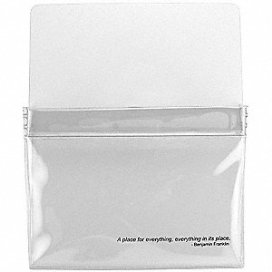 Magnetic Pouch,9-1/2 W x 12 H x 5/8 In