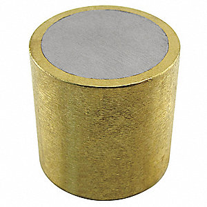 Alnico Shielded Magnet,0.225 lb. Pull