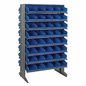 "36"" x 24"" x 60"" Pick Rack with 800 lb. Load Capacity, Blue"