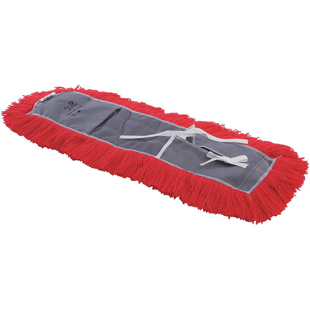 ATLAS GRAHAM MOP DUST ELECTRASTAT TIE RED 2 - Dust Mop Heads