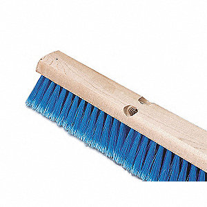 BROOM PUSH FINE SYNTHETIC 24IN