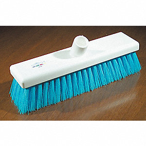 BROOM GENERAL  PURPOSE 12IN BLUE