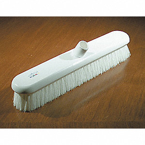 BROOM GENERAL PURPOSE 18IN WHITE