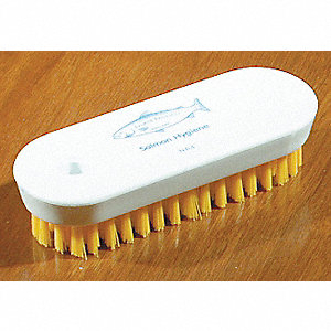 BRUSH NAIL FLAT BACK 4 3/4IN YW