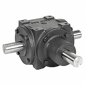 GEAR DRIVE,BEVEL,1150 RPM,34 HP, CI