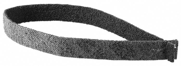 Fleece With Zirconium Oxide Polishing Belt, 32 1/16 in L X 13/16 in W, 5 PK