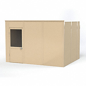 Modular In-Plant Office, 4Wall, 10x12