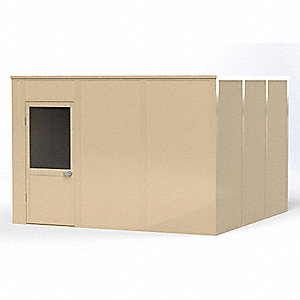 Modular In-Plant Office,4Wall,12x12