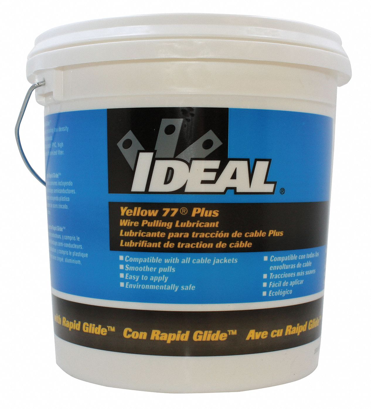 IDEAL Cable and Wire Pulling Lubricant, 1 gal. Pail, Water Chemical ...