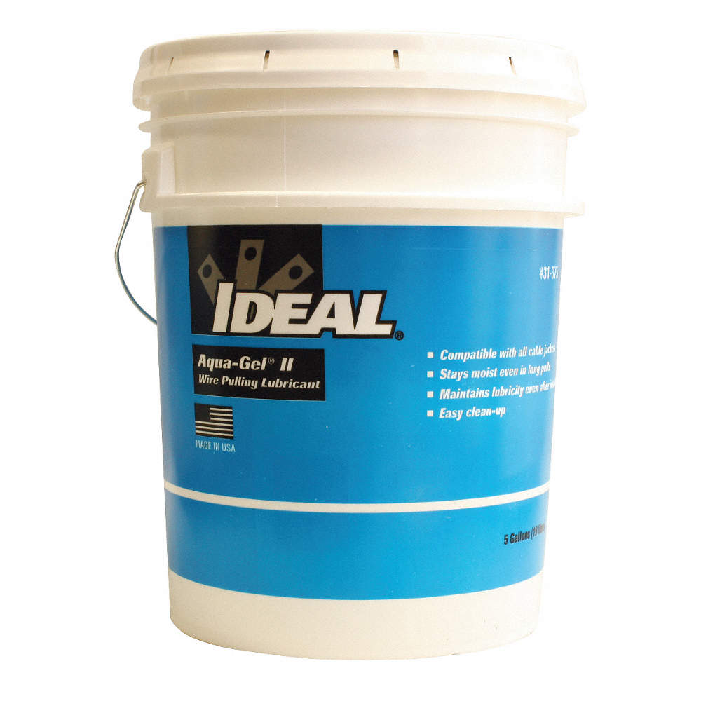 IDEAL Cable and Wire Pulling Lubricant, 5 gal. Pail, Water Chemical ...