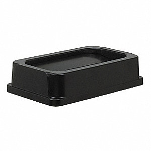 Black Swing Trash Can Top, 23 gal.