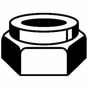 LOCKNUT STOVER L9 CAD-DIC 5/8-11