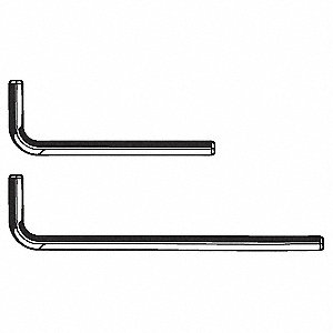 HEX KEY SHORT ARM ALLOY 5/16IN