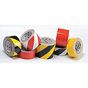 RED FLR TAPE 3IN X 100FT B514