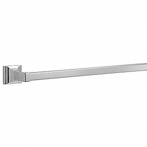 18 inL Polished Chrome Stainless Steel Towel Bar, Sunglow Collection