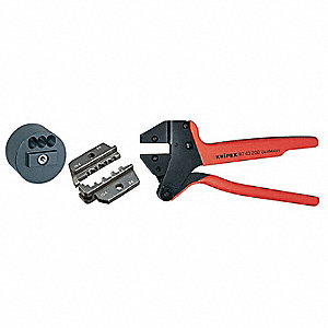 "7""L Solar Ratchet Crimper Kit, MC3"