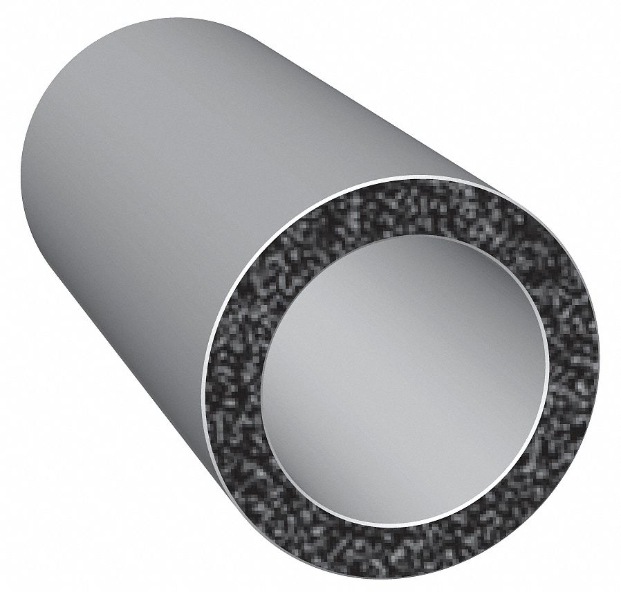 Trim Lok Inc X301-25 Rubber Seal Solid Round 0.25 in W 25 FT for sale online