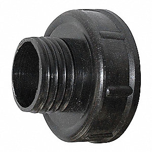 "Funnel Threaded Adapter,1-1/2""dia. Spout"