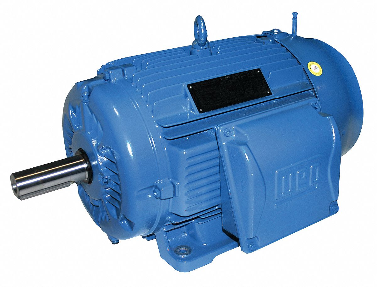 WEG 60 HP Metric Motor,3-Phase,1780 Nameplate RPM,460 Voltage,Frame ...