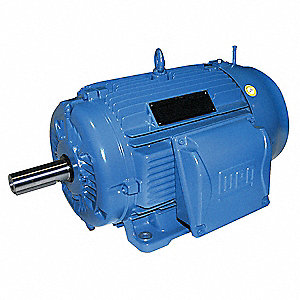 60 HP Metric Motor,3-Phase,1780 Nameplate RPM,460 Voltage,Frame 225S/M