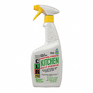 Kitchen Cleaner, 32 oz. Spray Bottle, Unscented Liquid, Ready To Use, 1 EA