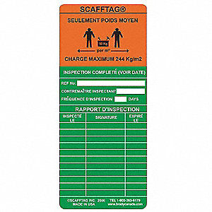 SCAFFTAG INS MEDIUM DUTY READY FR