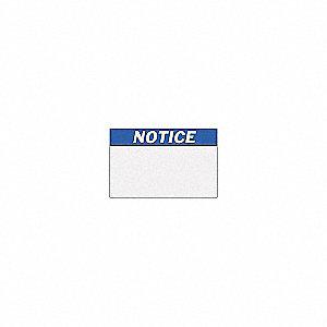 B30 B595 NOTICE ANSI 4.00INX6.00IN
