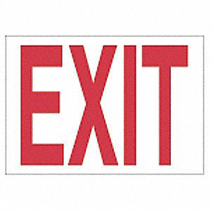 SIGN DIR/EXIT N/H 7X10