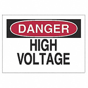 SIGN DANGER 7X10