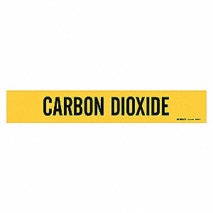 PIPEMARKER 79014 CARBON DIOXIDE