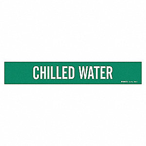 PIPEMARKER 79353 CHILLED WATER
